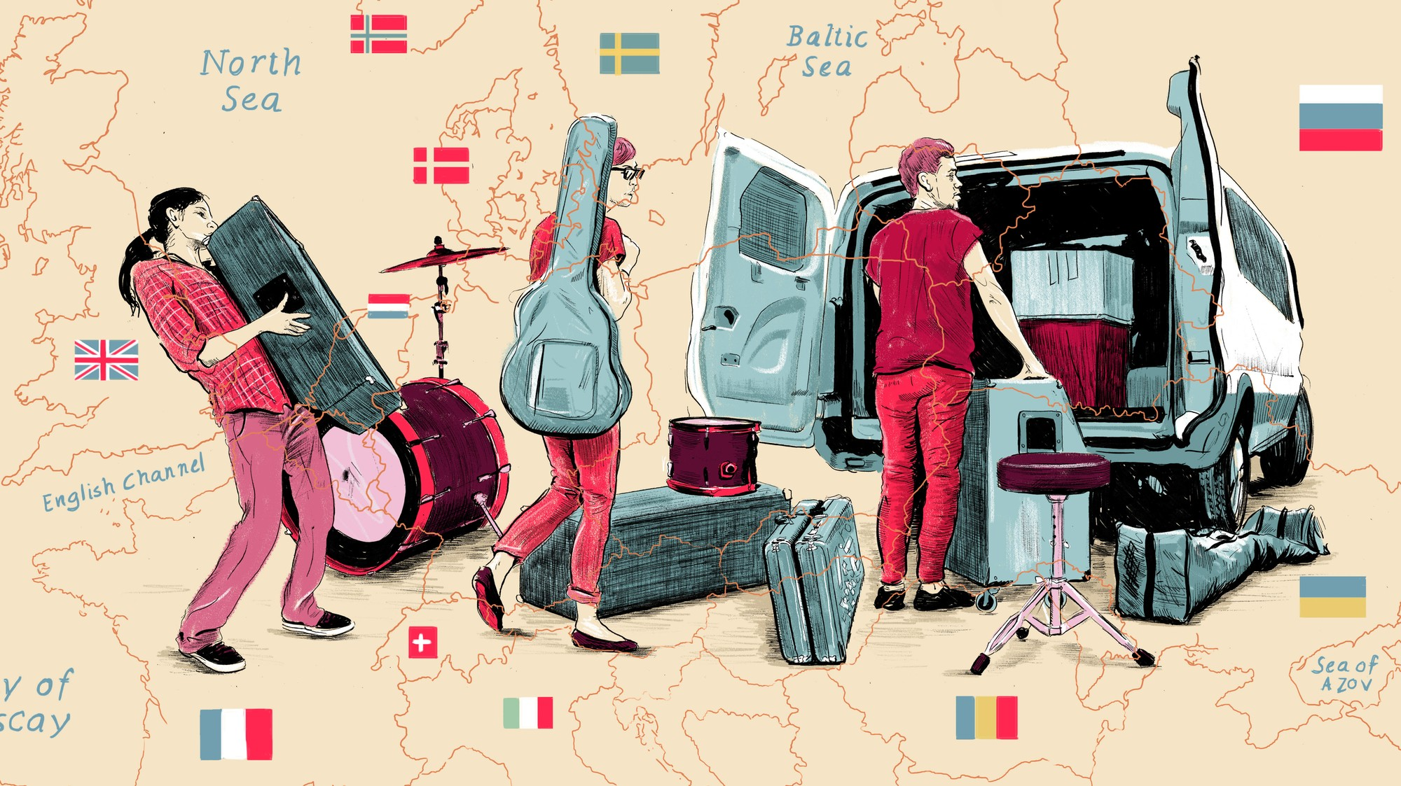 How to Book a European Tour as a Broke American with No
