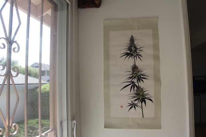 Traditional Chinese Paintings of Cannabis Aim to Change Perceptions About the Medicinal Plant - VICE