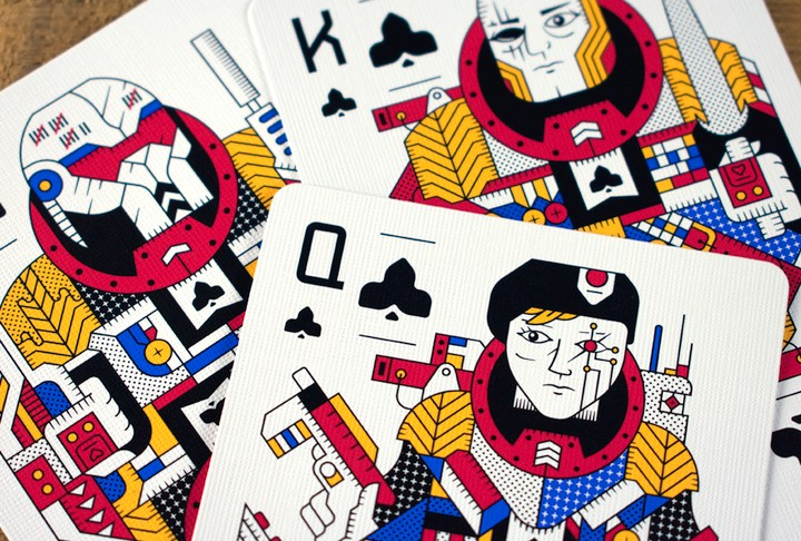 Designers Turned Playing Cards into a Legit Sci-Fi Universe - VICE