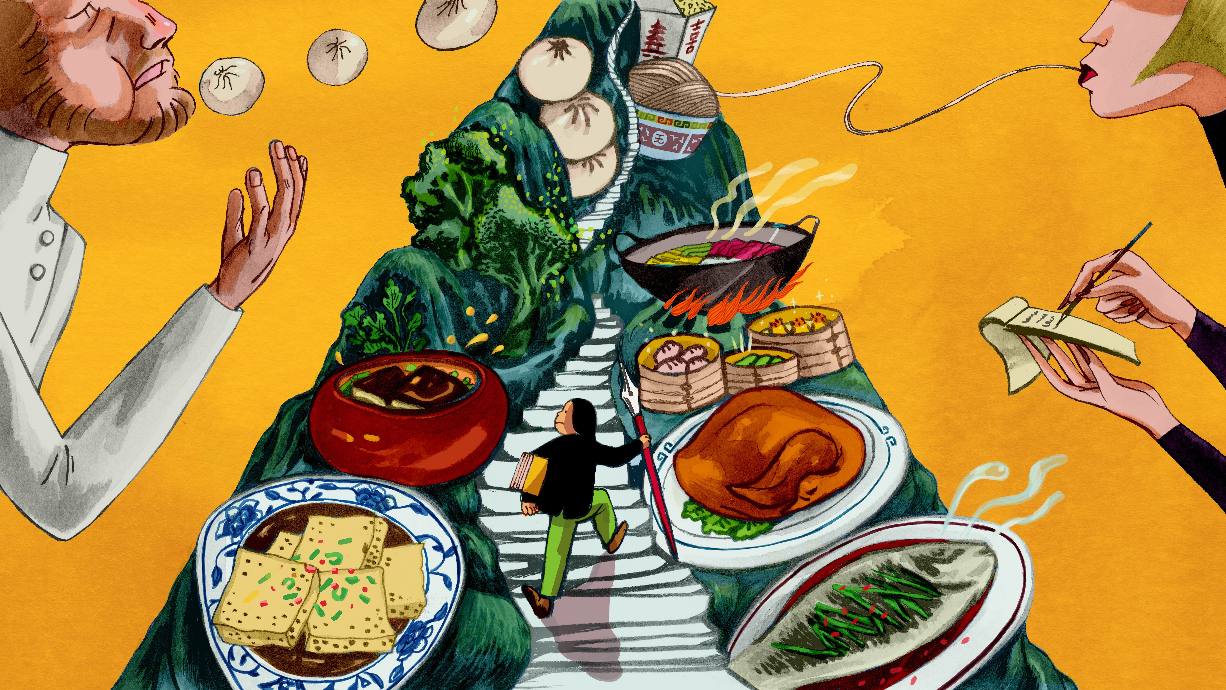 Cuisine Illustration the struggles of writing about chinese food as a chinese person
