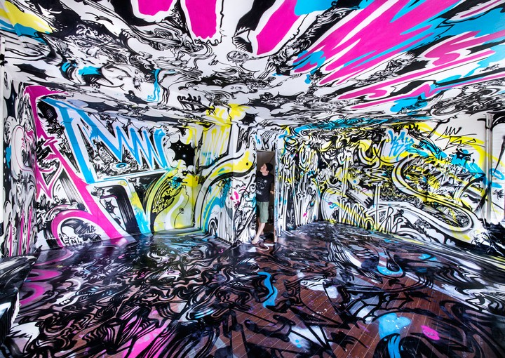165 Street Artists Took Over an Abandoned Building in Berlin, and the Results Are Wild