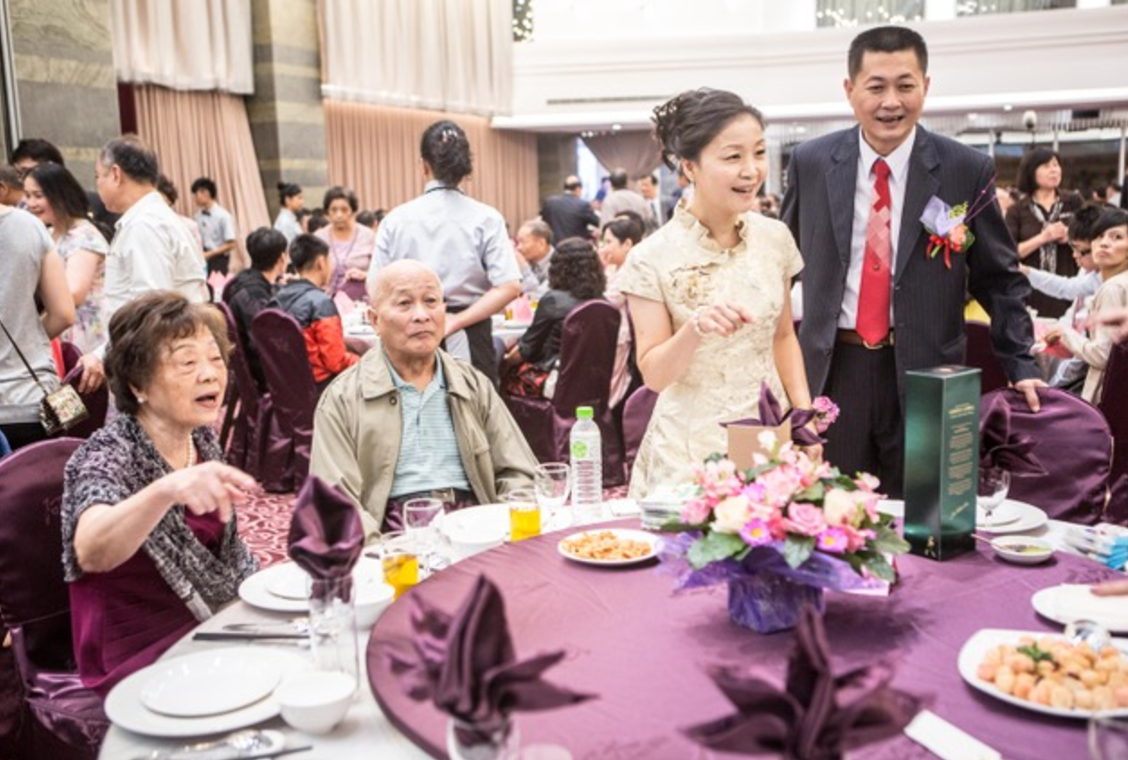 a narrative about a chinese wedding banquet from hell
