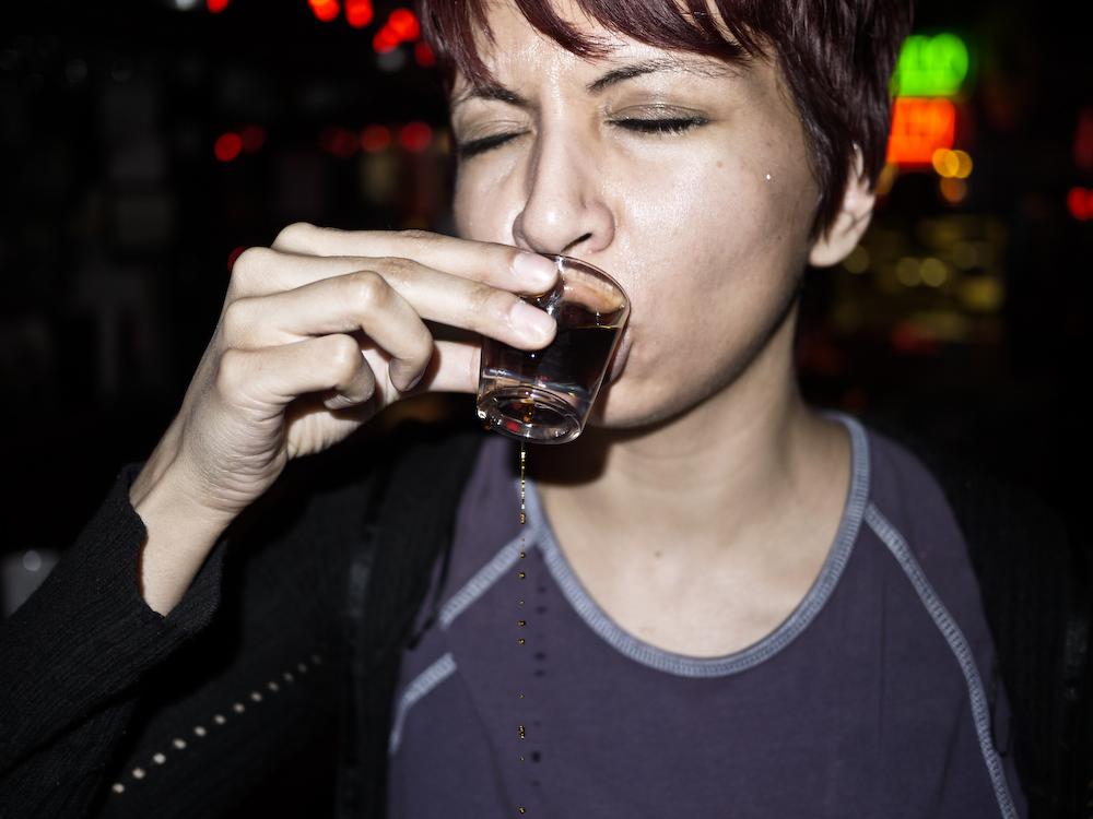 Tè con un timo contro alcolismo