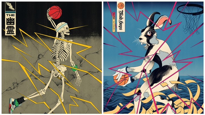 Japanese Demons Ball Out in Retro–Futuristic Illustrations - VICE