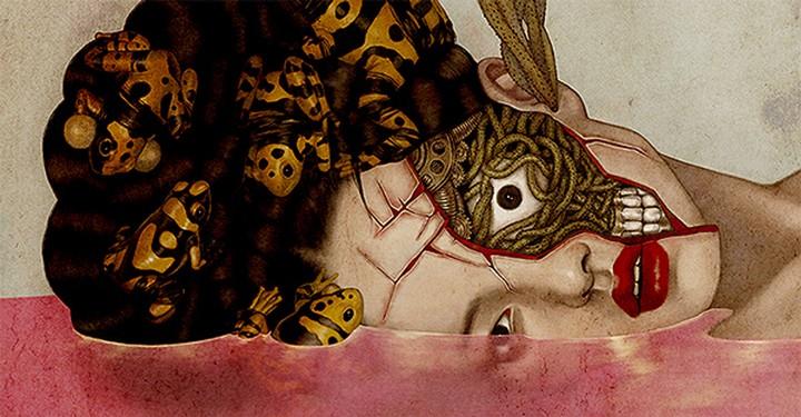 A Korean Illustrator's Existentially Damaged Illustrations