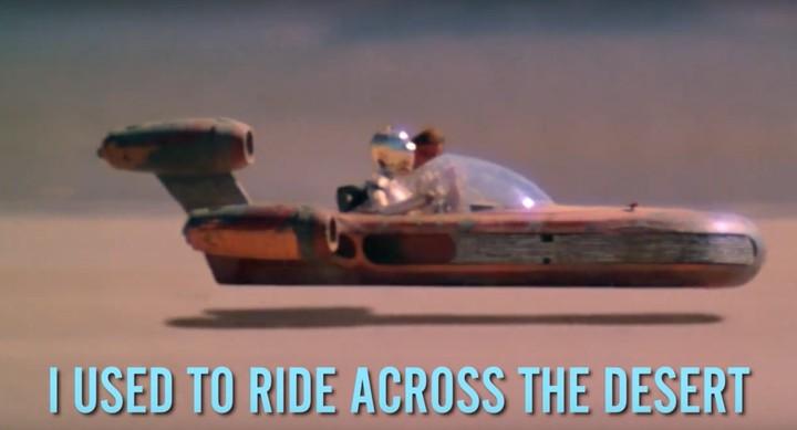 Dieser wundervoll bescheuerte 'Star Wars'-Song ist heute das beste Musikvideo der Welt