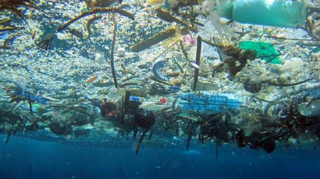 People Think Of Pacific Trash Vortex As A Floating Island Plastic