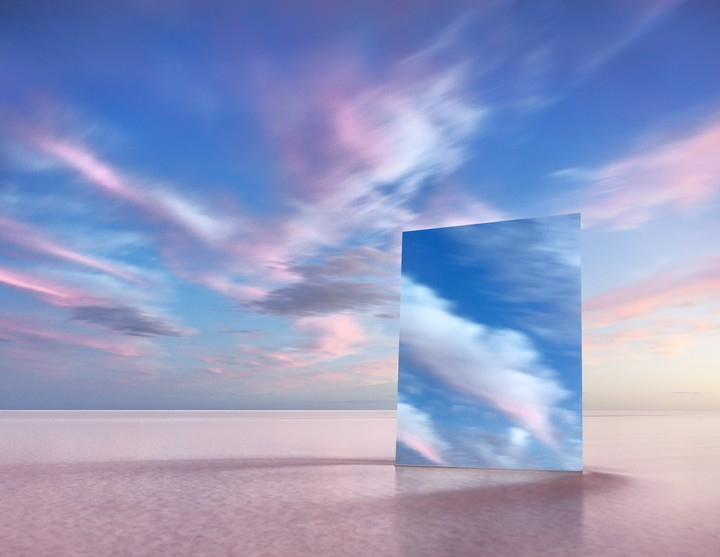 Artist Captures Otherworldly Photos by Dragging a Mirror into a Lake - VICE