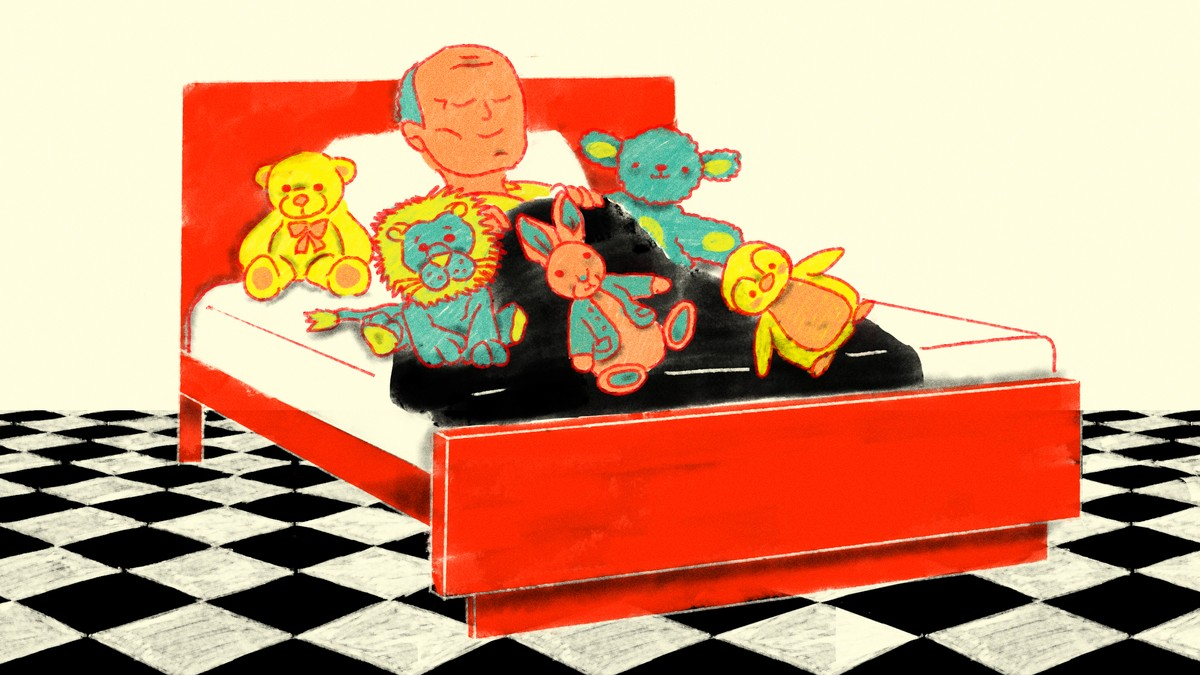 How Old Is Too Old To Sleep With A Stuffed Animal Vice