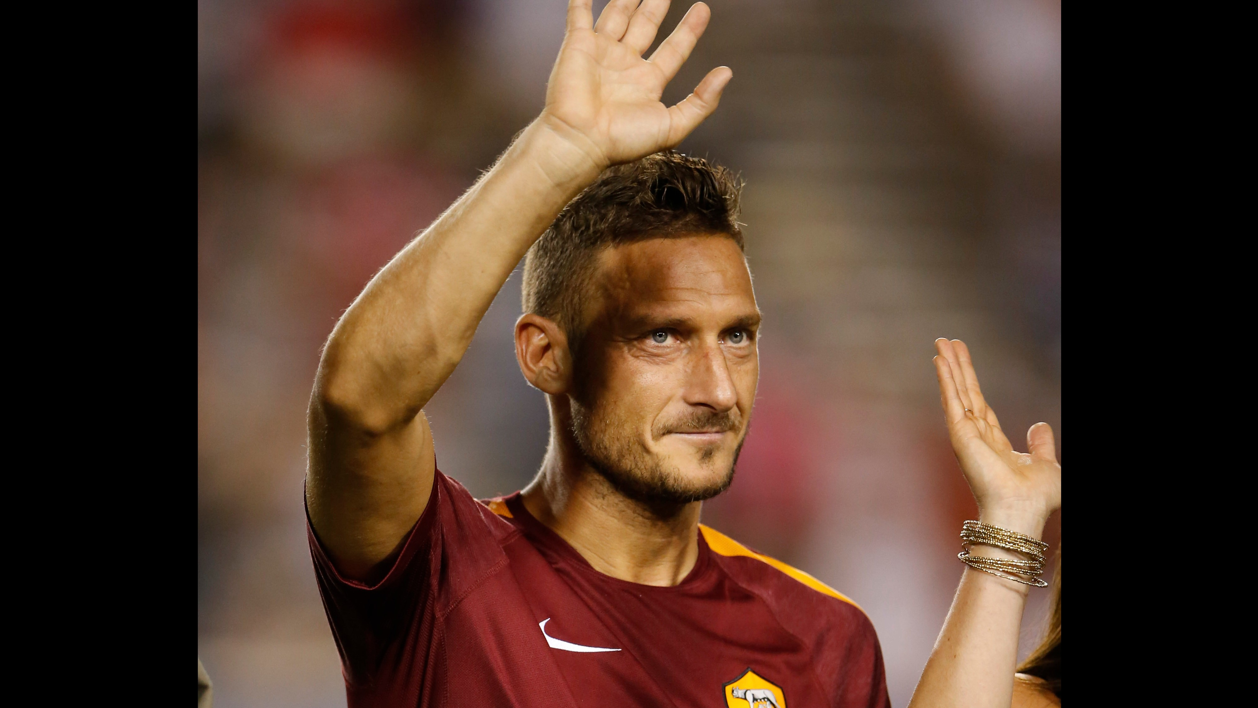 Demi God Francesco Totti Plays Final Game After 25 Years at Roma
