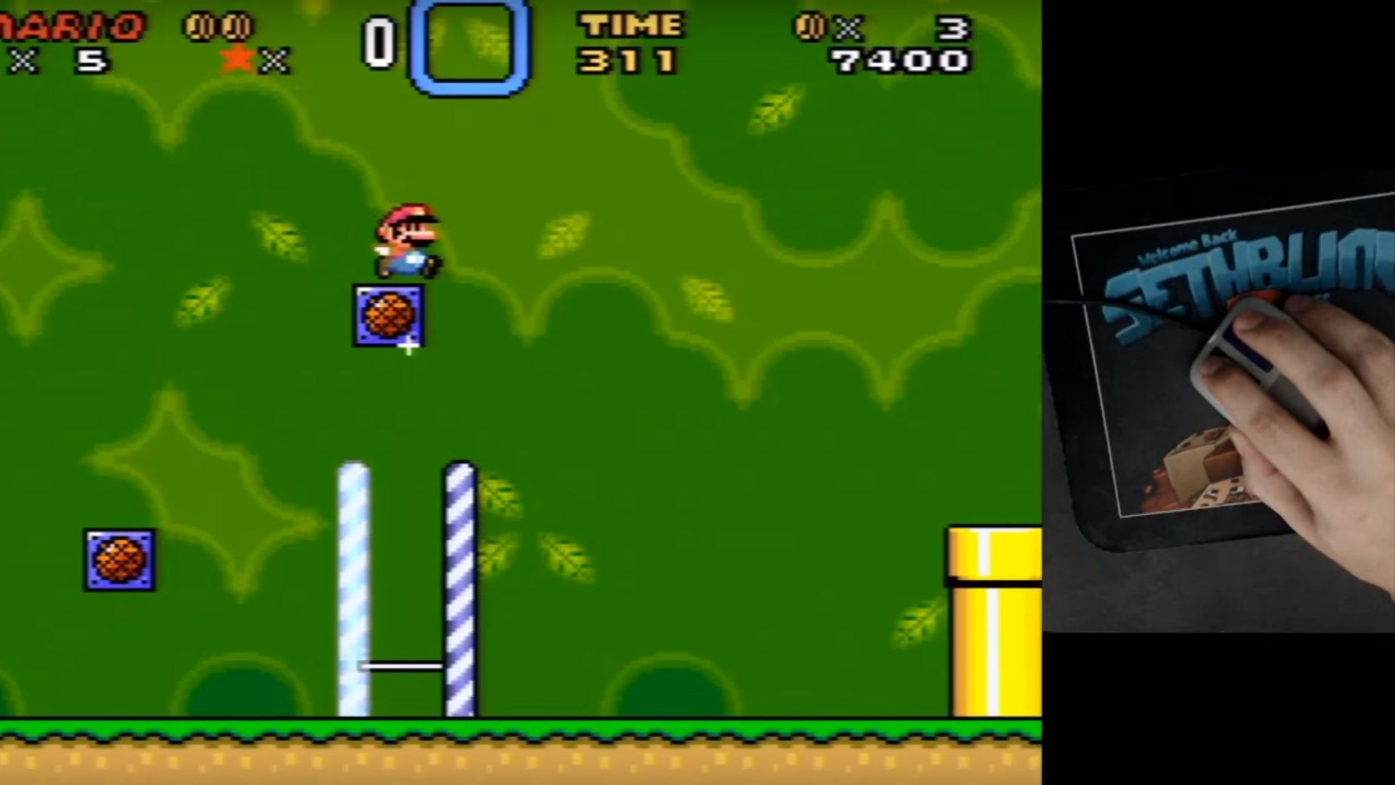 Someone Hacked Mouse Support Into 'Super Mario World' - VICE