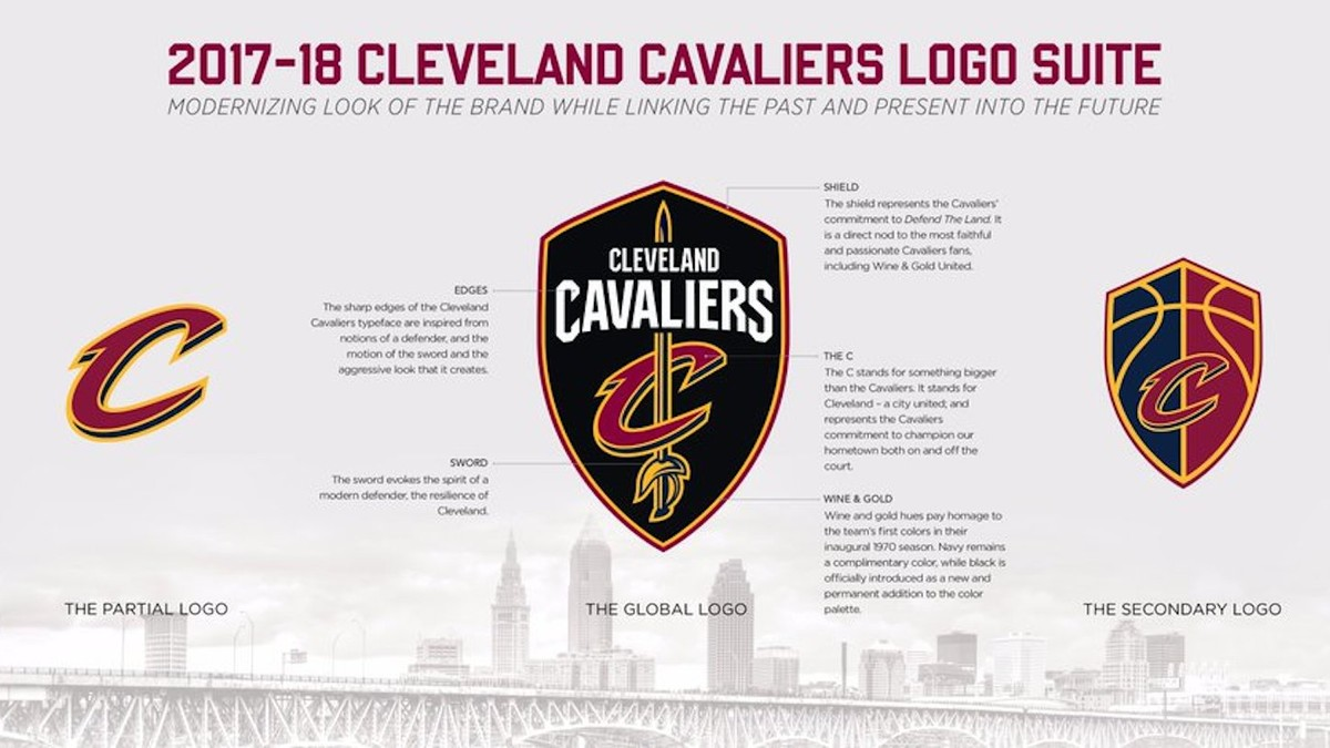 6492febdbf7 New Cavs Logo Includes 'Warriors Blew 3-1 Lead' Trolling - VICE