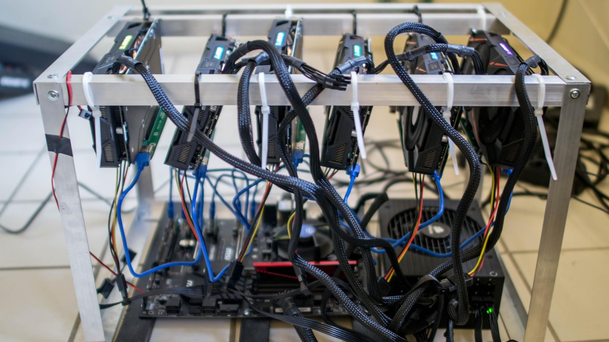 how much ram does a server need to mine cryptocurrency