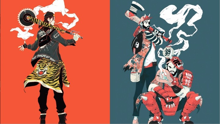 The Samurai Lives on in These Dazzling Digital Drawings