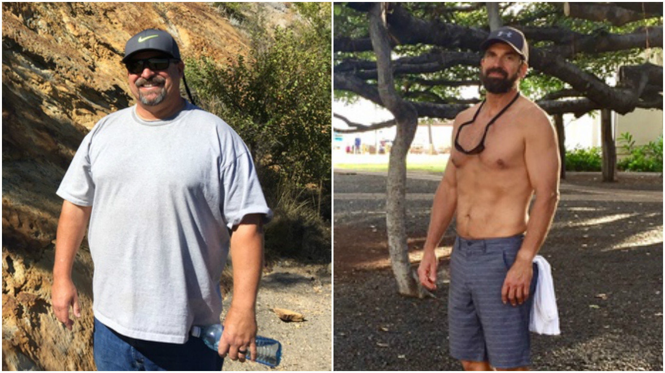 This Man Quit Drinking At 53 And Lost 100 Pounds Tonic