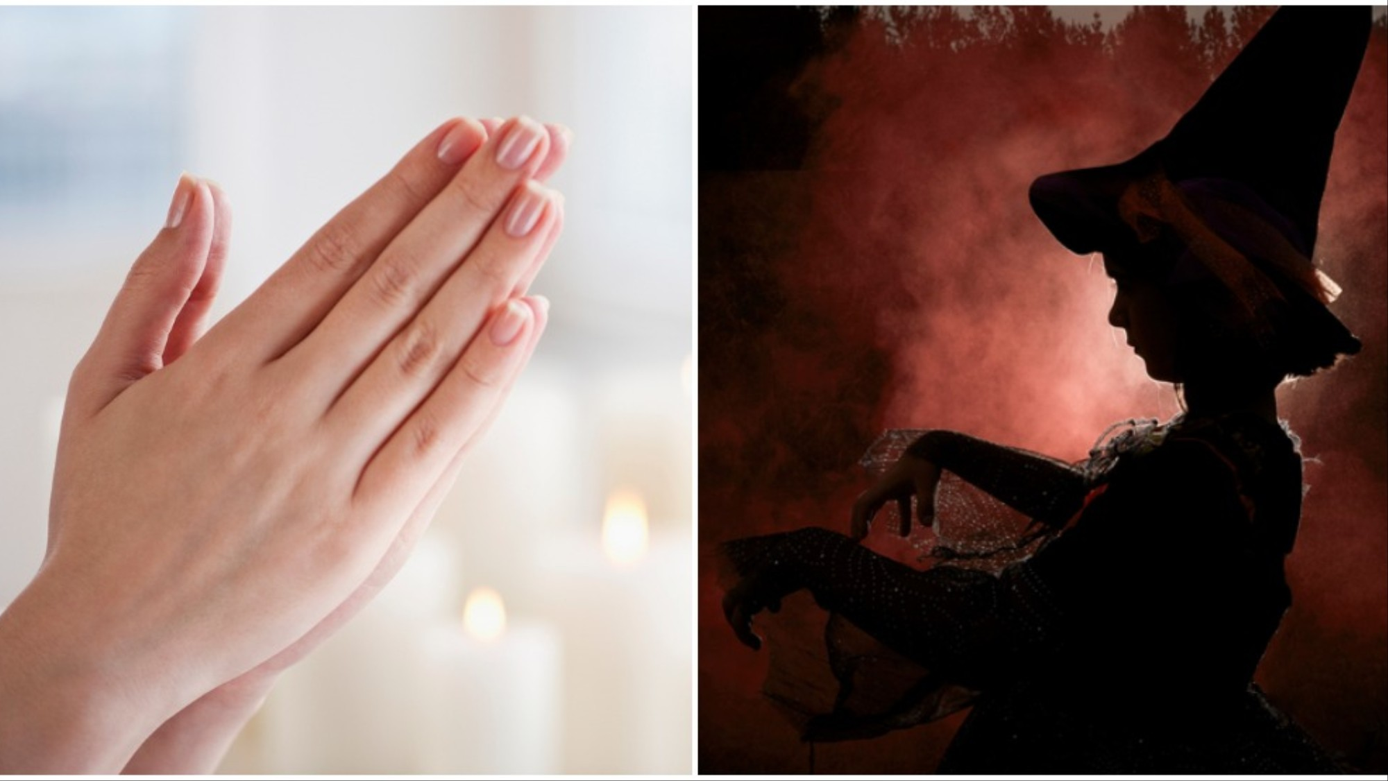 Hexes vs  Prayers: Christians and Witches Are Waging