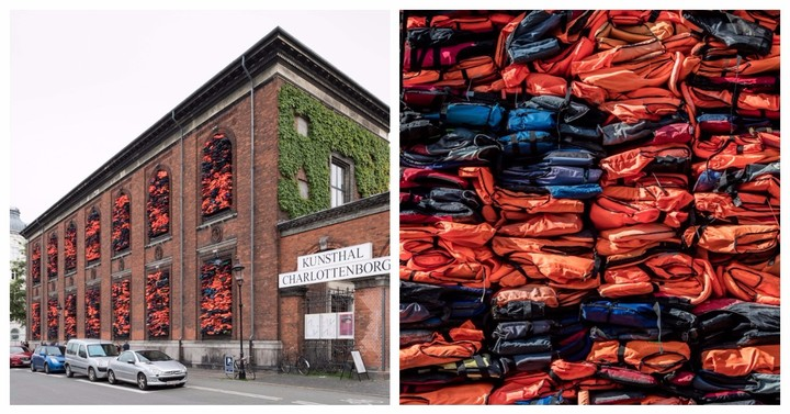 3,500 Salvaged Life Jackets Storm Denmark for Ai Weiwei's Latest