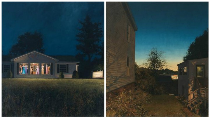 Linden Frederick's Paintings Capture Somber, Sleepy Sunsets