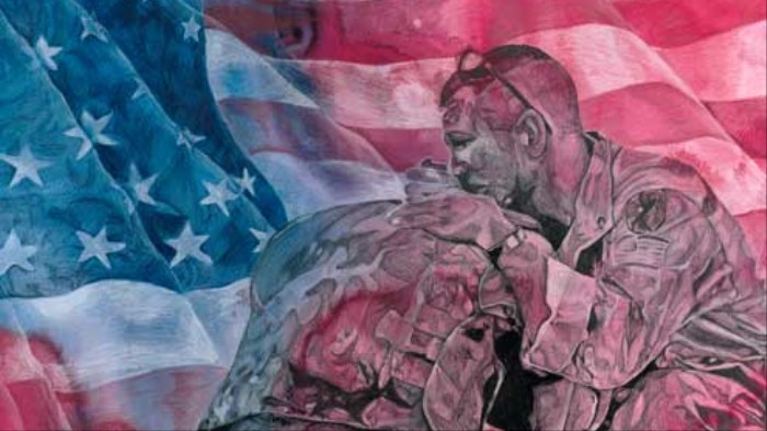 3,500 American Teenagers Compete to Make the Most Patriotic Art