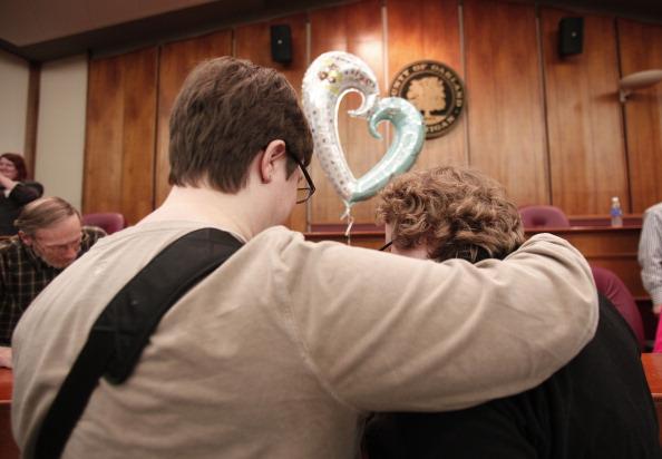 Same sex benefits michigan court