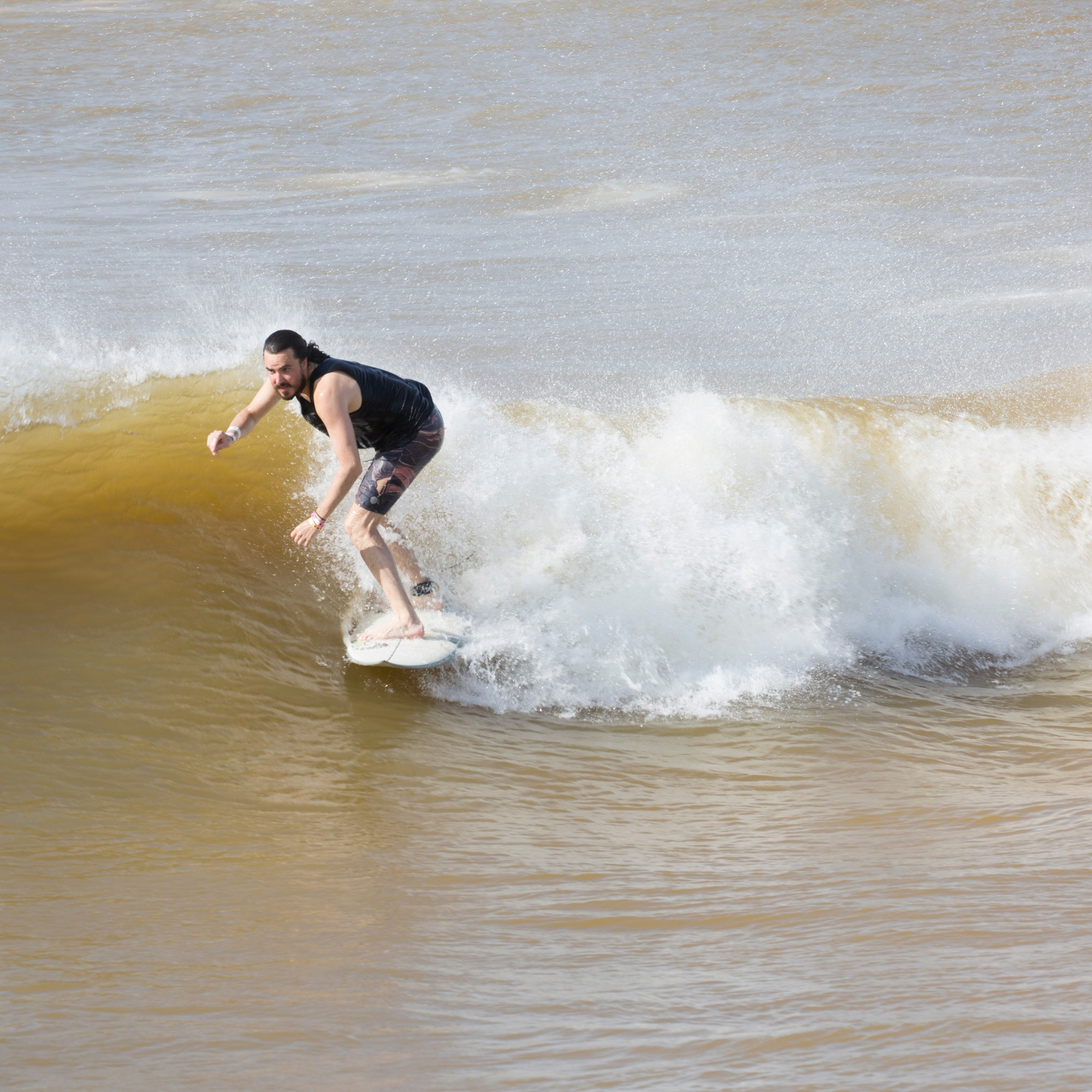 I Surfed a Perfect Man Made Wave in the Heart of Texas Motherboard