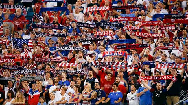 d93a14c4b1d American Outlaws Tifo Problematically Calls Gold Cup, an Object, a