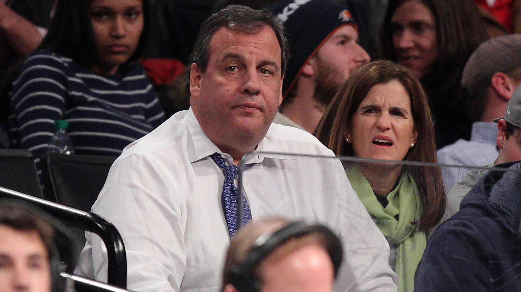 chris christie gets called a fat ass in sports radio audition
