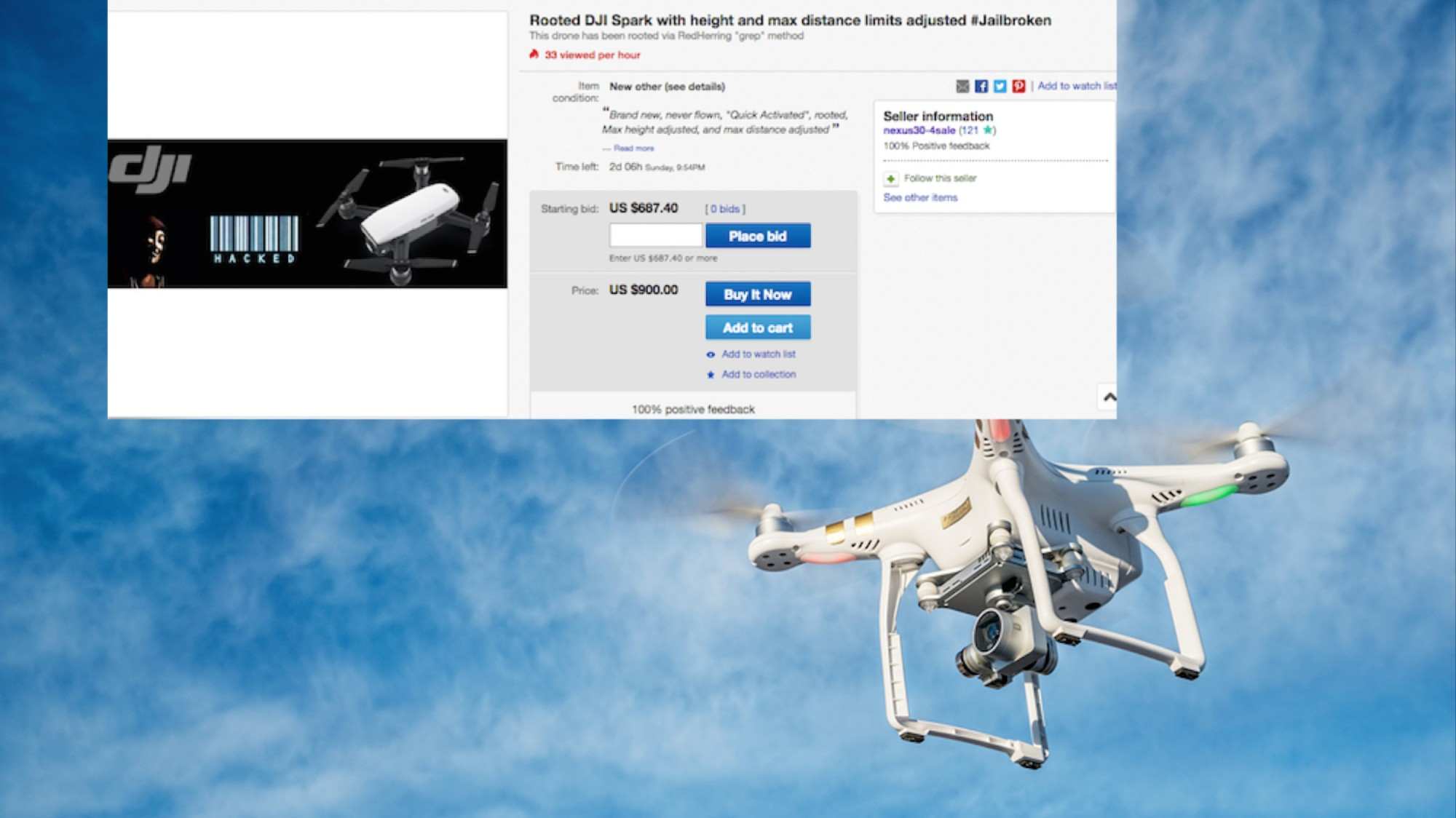 We Talked to the Guy Selling a Pre-Hacked Drone on eBay - VICE