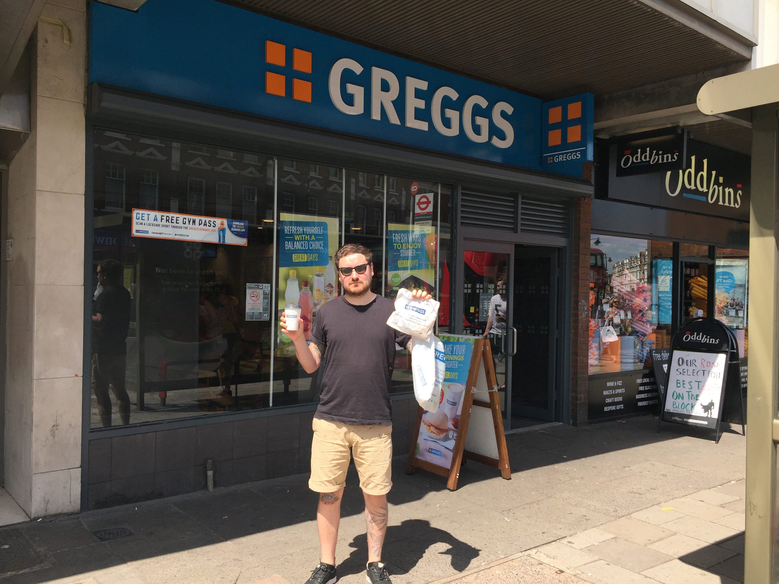 I Ate Only Greggs for an Entire Week - VICE