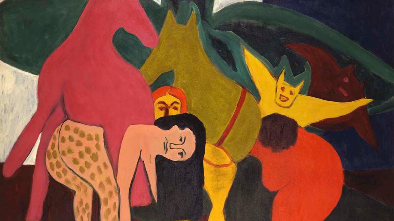 rashid johnson turns to color as a respite from politics creators