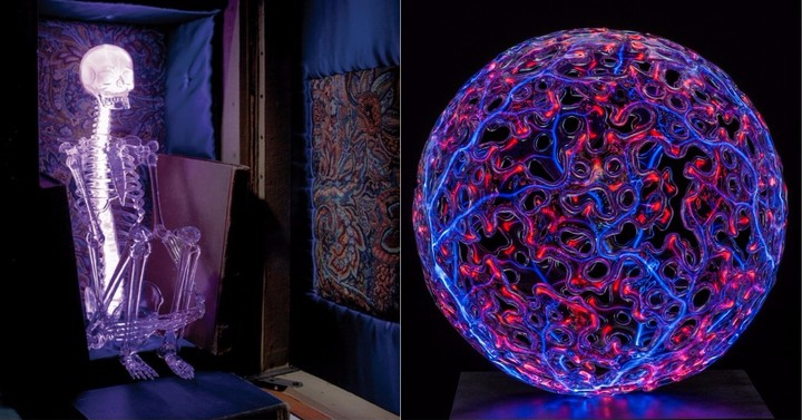 Neon and Glass Artworks Glow in Surreal 'Art of Plasma' Exhibition - VICE
