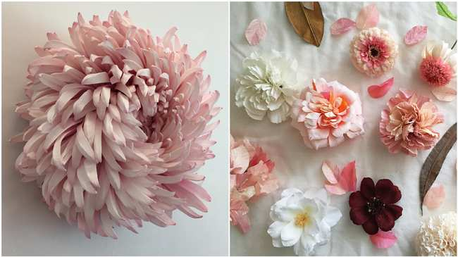 These incredibly realistic flowers are actually made of paper creators photos courtesy of tiffanie turner mightylinksfo