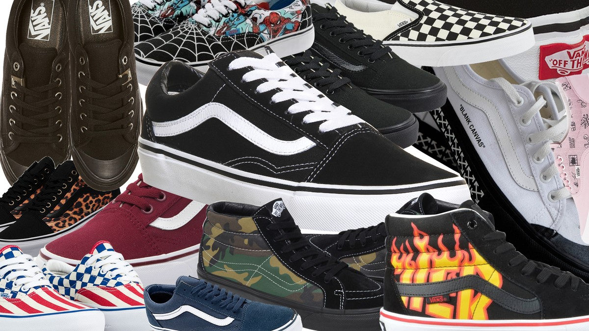 vans old skool negras 40
