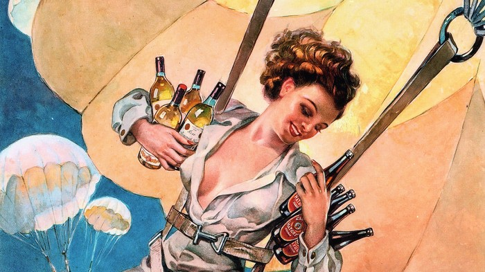 Archiving Vintage Liquor Ads Is a Job with Spirit (Pun Intended)
