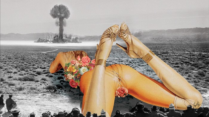 [NSFW] Raunchy Collages Merge Politics and Porn
