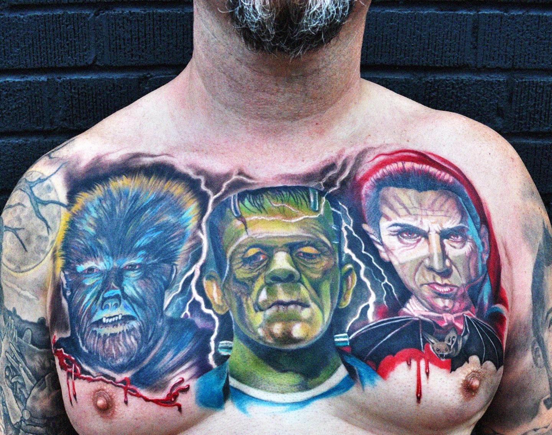 Tattooed Gay Gets Bj