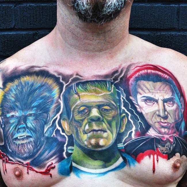 9f08a0564 We Asked Tattoo Artists About the Weirdest Pop-Culture Ink They've Done.