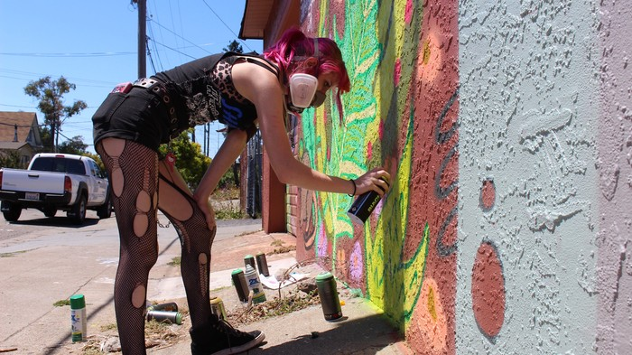 Dismantling the Street Art Boys Club at an All-Girls Graffiti Camp