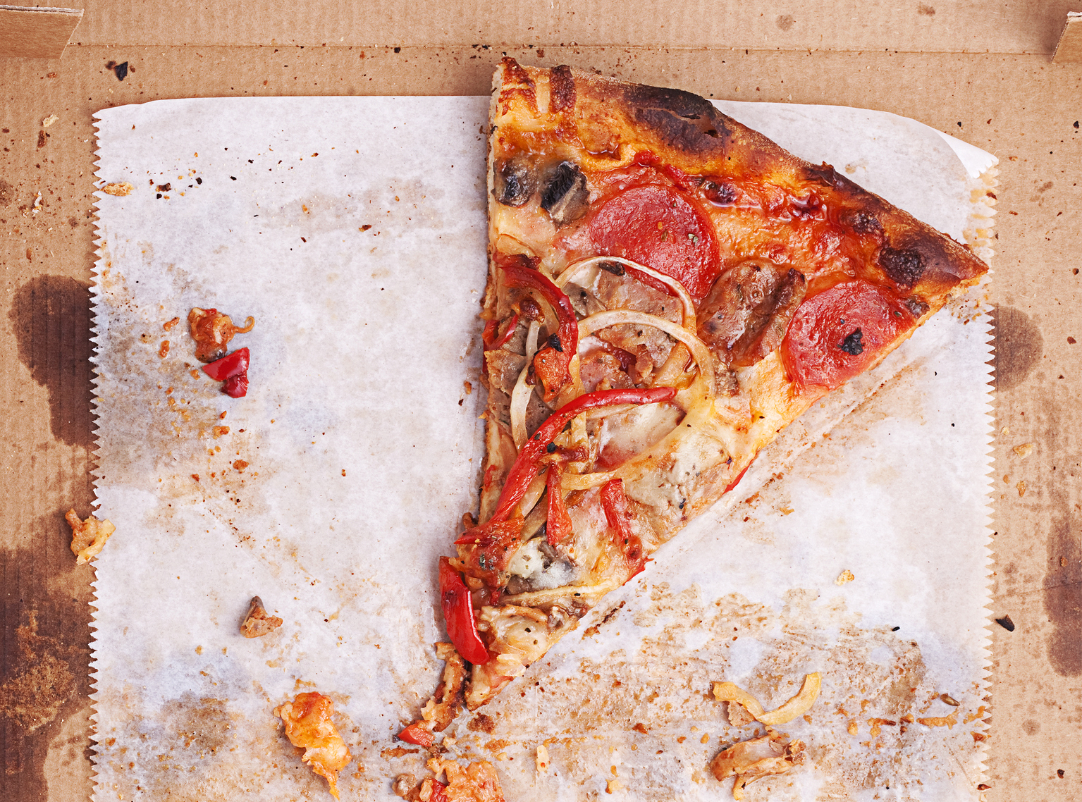 How long can you keep leftover pizza in the fridge