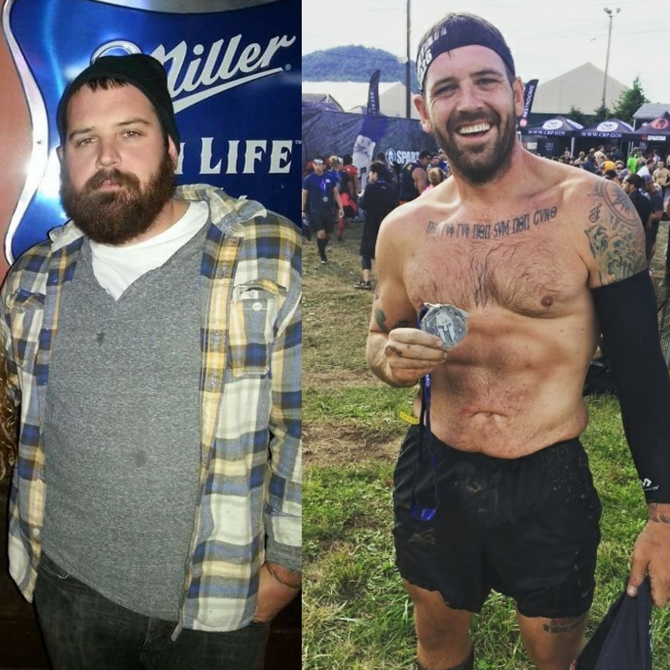 My Compeive Side Helped Me Get Sober And Lose 125 Pounds