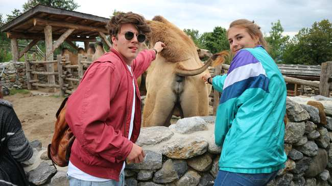 erstes date zoo