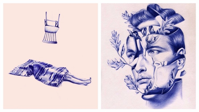 These Gorgeous Drawings Are 100% Ballpoint Pen