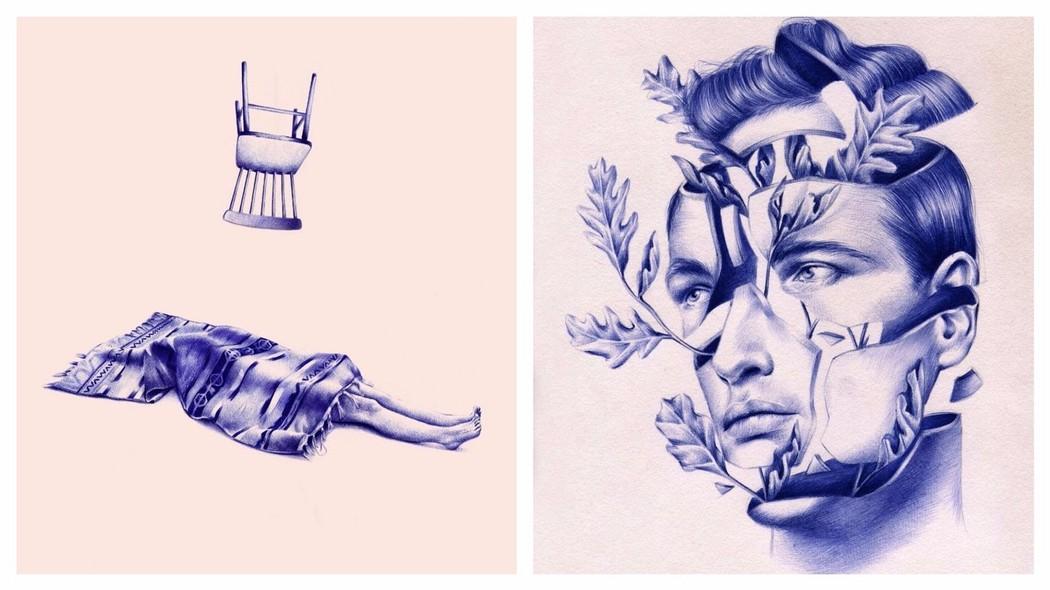 Estos hermosos dibujos son 100 bolgrafo  Creators