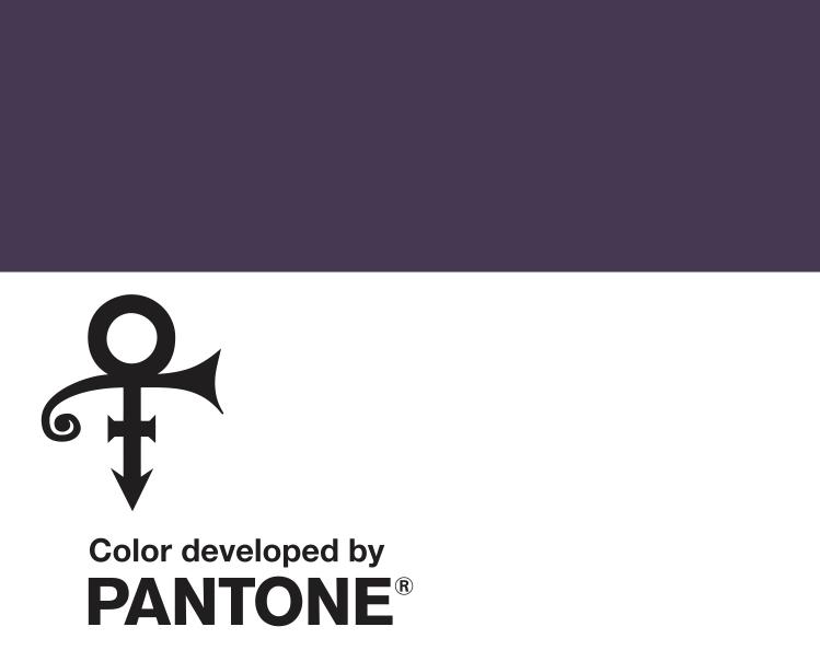 prince\u0027s signature purple is now a pantone colour - i-D