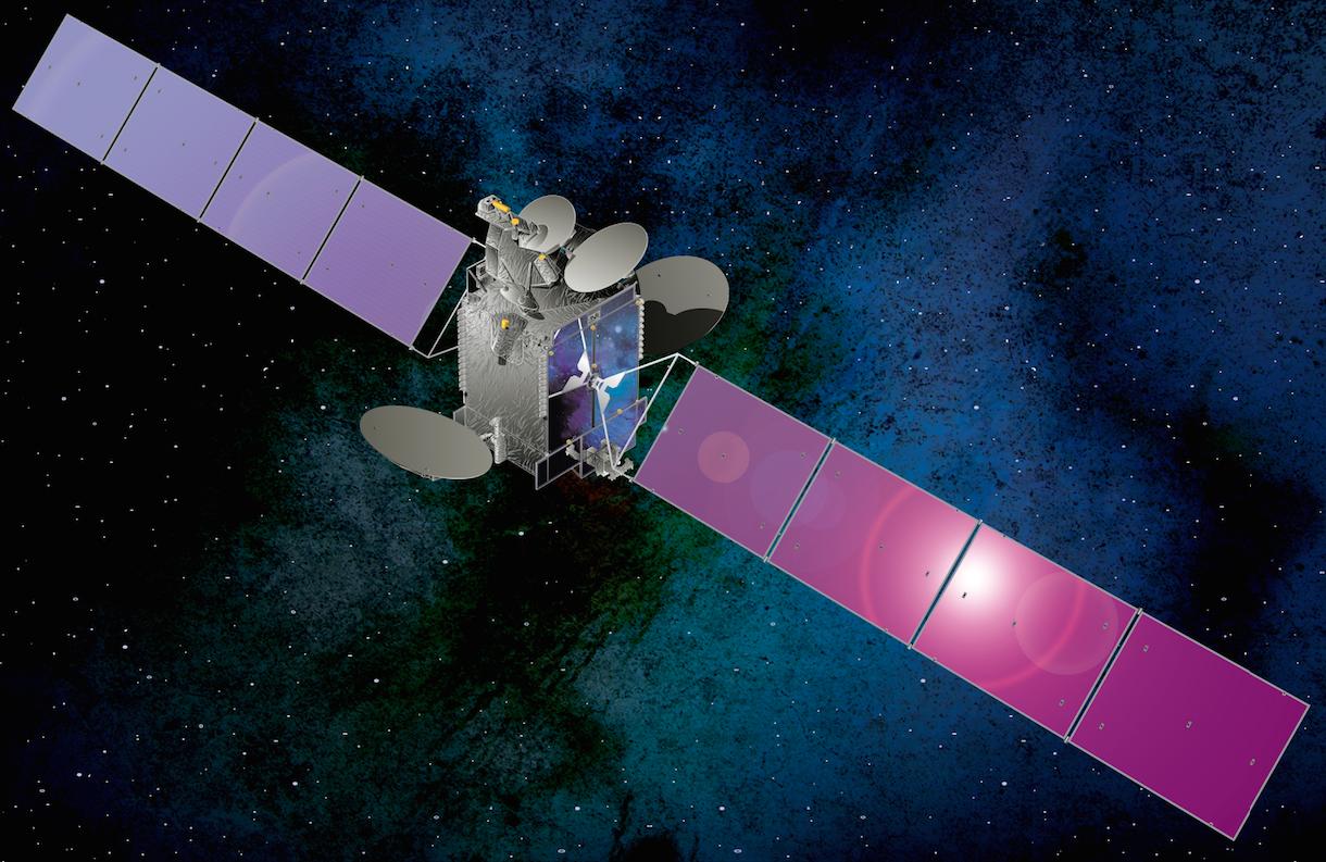 Đào Bitcoin bằng vệ tinh vũ trụ