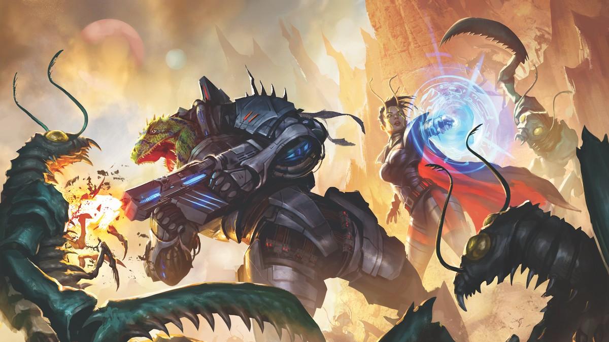 Starfinder Brings Fan Favorite Fantasy Tabletop Rpg To
