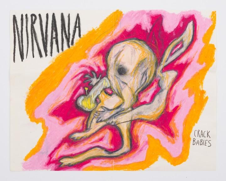 Курт Кобейн был ещё и блестящим художником