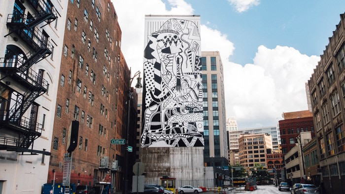 Massive Murals Are Popping Up Around Detroit