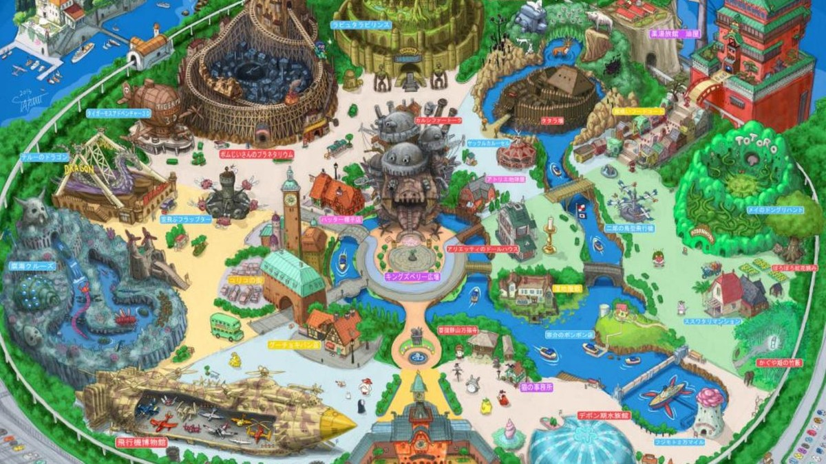 a studio ghibli theme park is confirmed for 2020 vice