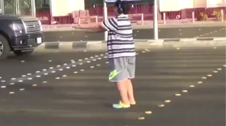 Young Hero Arrested for Doing the Macarena in the Road in Saudi Arabia